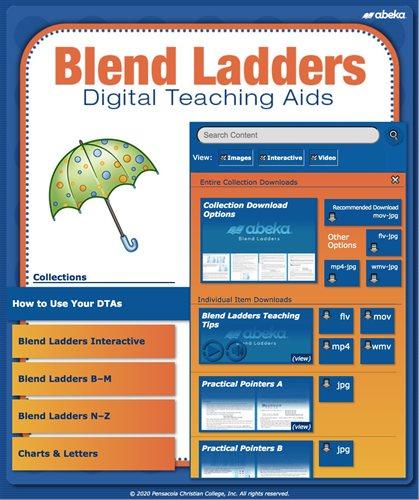 Blend Ladders