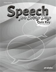 Speech for Every Day Quiz Key—New