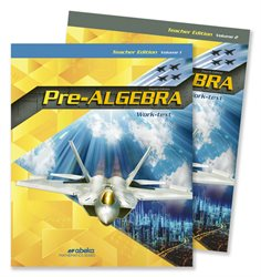 Pre-Algebra Teacher Edition Volumes 1 and 2—Revised