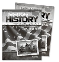 United States History: Heritage of Freedom Quiz and Test Key Volumes 1 and 2—Revised