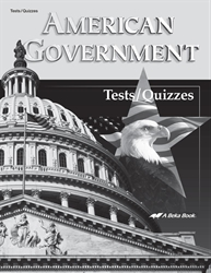 American Government Quiz and Test Book