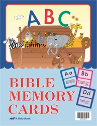 Large ABC Bible Memory Cards (Unbound)