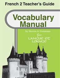 French 2 Vocabulary Manual Teacher Guide