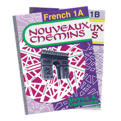 Nouveaux Chemins French 1—Books A/B