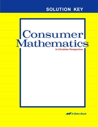 Consumer Mathematics Solution Key
