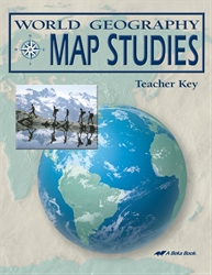 Abeka product information world geography map studies key world geography map studies key gumiabroncs Image collections