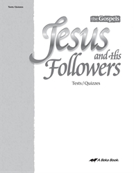 Jesus and His Followers Quiz and Test Book