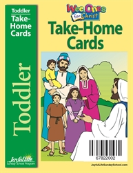 Toddler Take-Home Cards