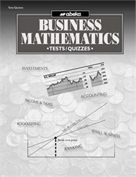 Business Mathematics Test and Quiz Book