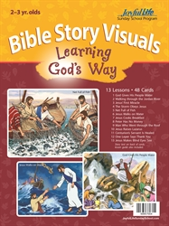 Learning God's Way 2s & 3s Bible Visuals