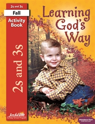 Learning God's Way 2s & 3s Activity Book