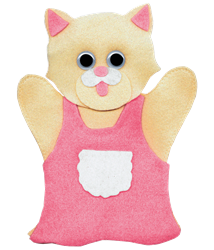2 and 3 Year Old Mitten Puppet