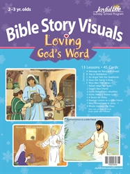 Loving God's Word 2s & 3s Bible Visuals