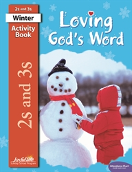Loving God's Word 2s & 3s Activity Book