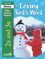 Loving God's Word 2s & 3s Take-Home Papers