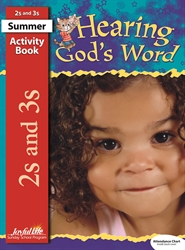 Hearing God's Word 2s & 3s Activity Book