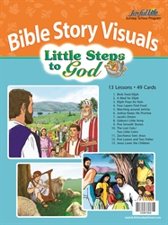 Little Steps to God 2s & 3s Bible Visuals