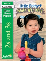 Little Feet Walk His Way 2s & 3s Take-Home Papers