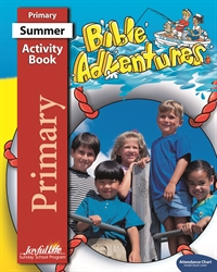 Bible Adventures Primary Activity Book