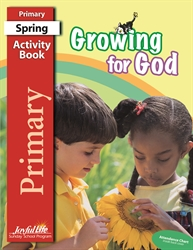 Growing for God Primary Activity Book