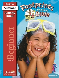 Footprints Through the Bible Beginner Activity Book