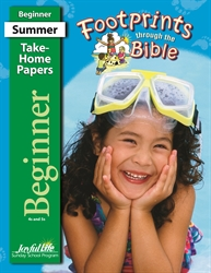 Footprints Through the Bible Beginner Take-Home Papers