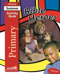 Bible Heroes Primary Activity Book