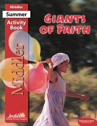 Giants of Faith Middler Activity Book