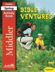 Bible Ventures Middler Activity Book