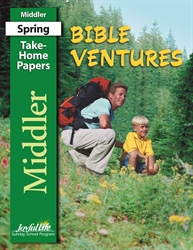 Bible Ventures Middler Take-Home Papers