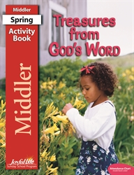 Treasures from God's Word Middler Activity Book