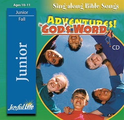 Adventures in God's Word Junior CD
