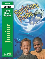 Scripture Probe Junior Take-Home Papers