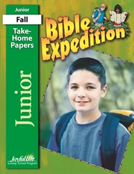 Bible Expedition Junior Take-Home Papers