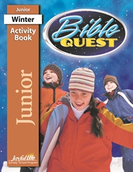 Bible Quest Junior Activity Book