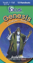 Genesis: Creation Thru Isaac Youth 1 Focus Student Handout