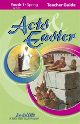 Acts & Easter Youth 1 Teacher Guide