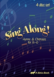 Sing Along! Hymns and Choruses 4 CD Set