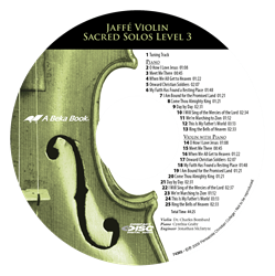 Jaffe Violin Sacred Solos Level 3 CD (Replacement)