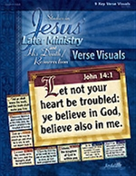 Jesus' Later Ministry Key Verse Visuals