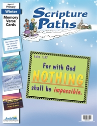Scripture Paths Primary Memory Verse Visuals
