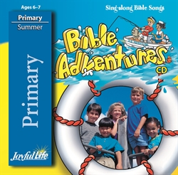Bible Adventures Primary CD
