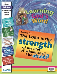Learning God's Word Primary Memory Verse Visuals