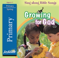 Growing for God Primary CD