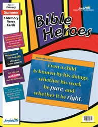 Bible Heroes Primary Memory Verse Visuals