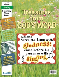 Treasures from God's Word Middler Memory Verse Visuals