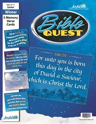 Bible Quest Junior Memory Verse Visuals