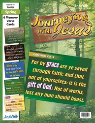 Journeying with Jesus Junior Memory Verse Visuals