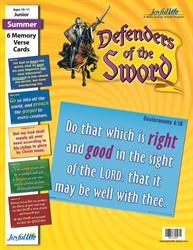 Defenders of the Sword Junior Memory Verse Visuals