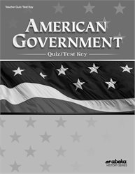 American Government Quiz and Test Key